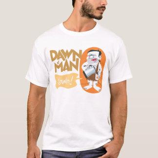 Amanecer de la camiseta del hombre