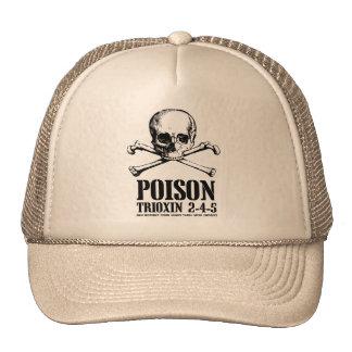 Amanecer de Trioxin 3-4-5 del zombi del veneno de  Gorras
