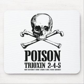 Amanecer de Trioxin 3-4-5 del zombi del veneno de  Alfombrillas De Ratones