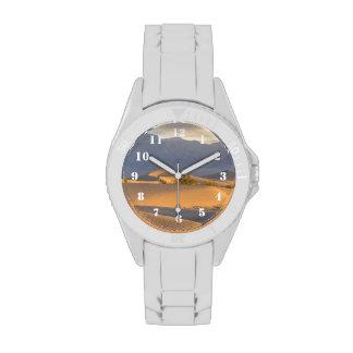 Amanecer del desierto relojes de mano