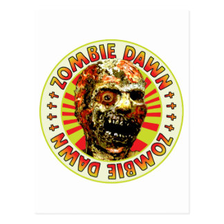 Amanecer del zombi postales