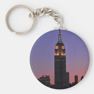 Amanecer: Empire State Building todavía encendido Llaveros