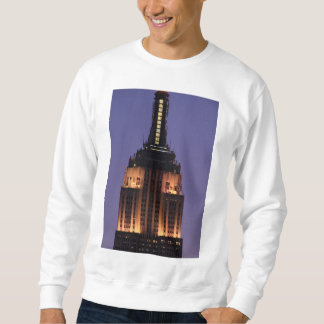 Amanecer: Empire State Building todavía encendido Sudadera Con Capucha