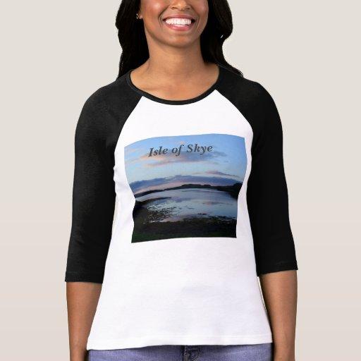 Amanecer en Dunvegan Camiseta