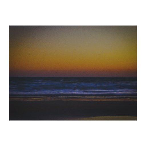 Amanecer en la playa II Impresiones En Lona