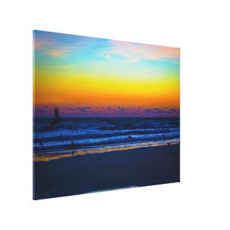 Amanecer en la playa III Impresiones En Lona Estiradas