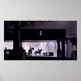 Amanecer en Saratoga Springs, 1963 Póster
