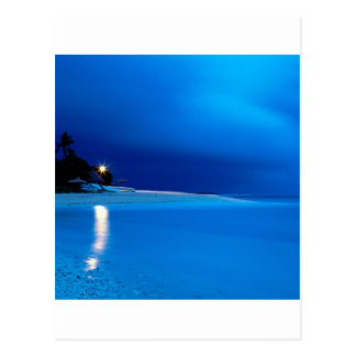 Amanecer Fiji del Boathouse de la playa Postales