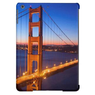 Amanecer sobre el puente de San Francisco y del Go Funda Para iPad Air