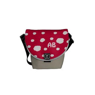 Amanita Fairy Toadstool or Mushroom Messenger Bag