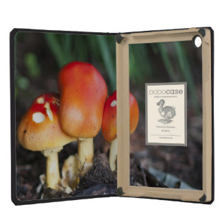 Amanita family mushroom iPad mini cases