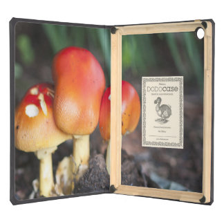 Amanita family mushroom iPad air case