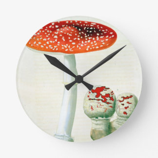 Amanita Muscaria from 'Phytographie Medicale' by J Wall Clock