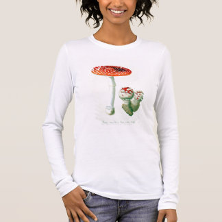 Amanita Muscaria from 'Phytographie Medicale' by J Long Sleeve T-Shirt