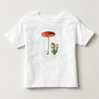 Amanita Muscaria from 'Phytographie Medicale' by J Toddler T-shirt