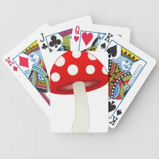 Amanita Muscaria Mushroom Love Card Decks