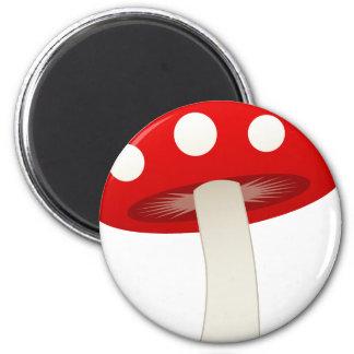 Amanita Muscaria Mushroom Love Magnets