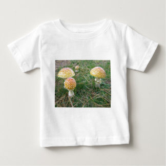 Amanita mushrooms baby T-Shirt