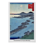 Amanohashidate por Utagawa, Hiroshige Impresiones