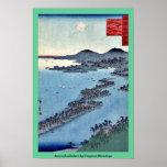 Amanohashidate por Utagawa, Hiroshige Posters