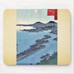 Amanohashidate por Utagawa, Hiroshige Tapetes De Ratones
