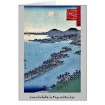 Amanohashidate por Utagawa, Hiroshige Tarjetas