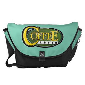 Amante 2 del café bolsa messenger