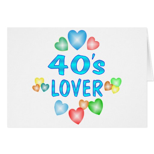 amante 40s tarjeta