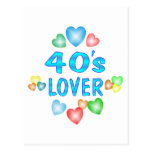 amante 40s tarjetas postales