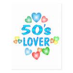 amante 50s postales