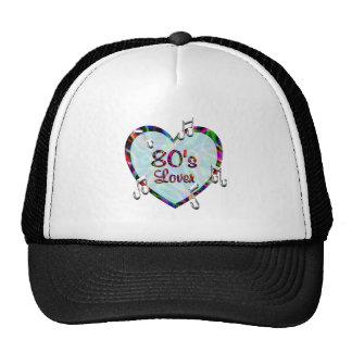 amante 80s gorros bordados