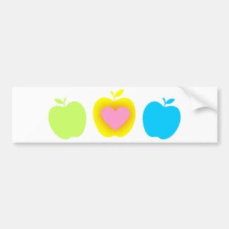 Amante A5 de Apple Pegatina De Parachoque