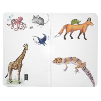 Amante animal cuadernos grapados