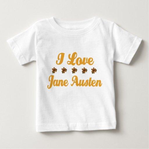 Amante bonito de Jane Austen Playera