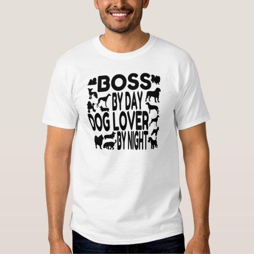 Amante Boss del perro Camisas