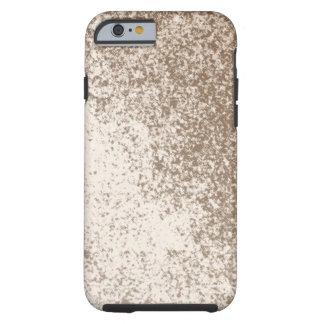 Amante Brown del fango y estilo del chapoteo de la Funda Para iPhone 6 Tough