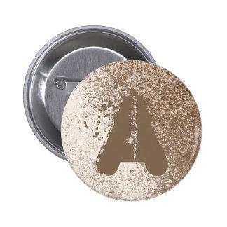Amante Brown del fango y estilo del chapoteo de la Pin