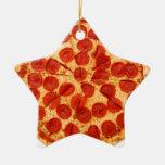 amante clásico de la pizza adornos de navidad