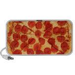 amante clásico de la pizza notebook altavoz