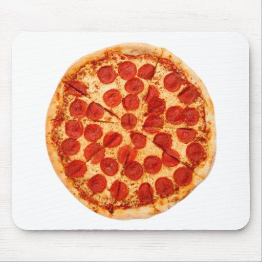 amante clásico de la pizza tapete de ratón