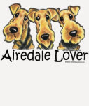 Amante de Airedale Terrier Camiseta