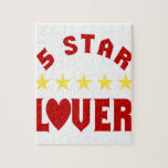 Amante de cinco estrellas puzzles