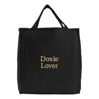 """""""Amante de Doxie """" Bolsa De Mano Bordada"""