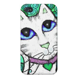 Amante de encargo 4/4S del gato iPhone 4 Carcasas