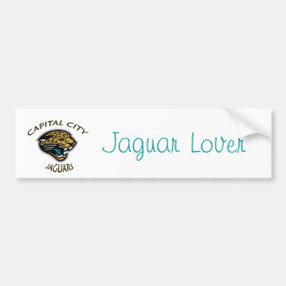 Amante de Jaguar Pegatina De Parachoque