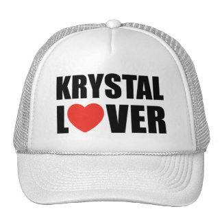 Amante de Krystal Gorras De Camionero