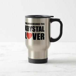 Amante de Krystal Tazas