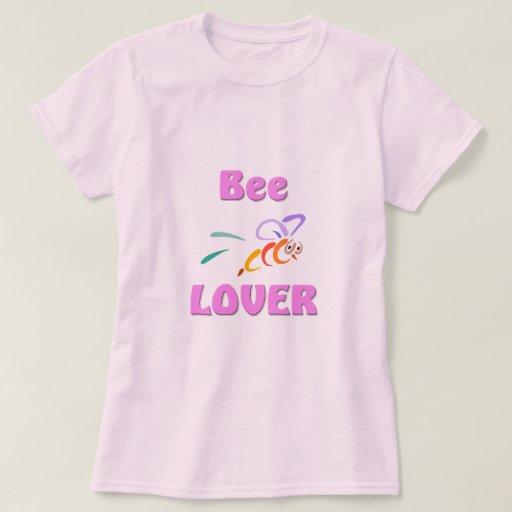 Amante de la abeja poleras
