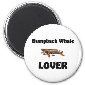 Amante de la ballena jorobada imán