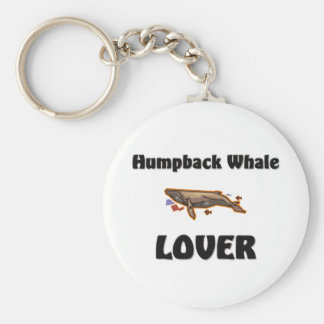 Amante de la ballena jorobada llavero personalizado